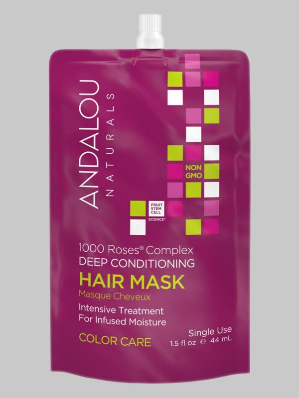 Andalou Naturals 1000 Roses Complex Color Care Hair Mask