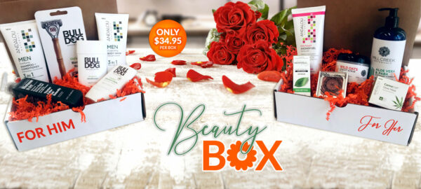 Valentine's Day Beauty Box for HIM or HER