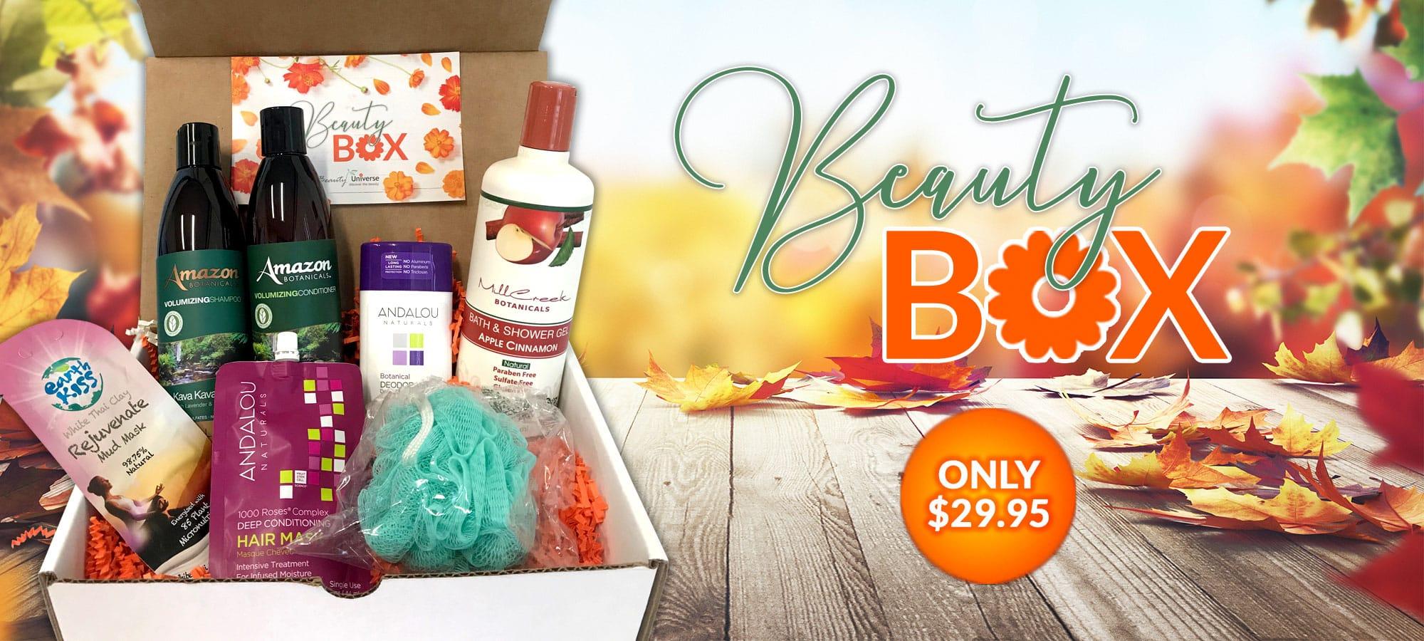 September Beauty Box Banner