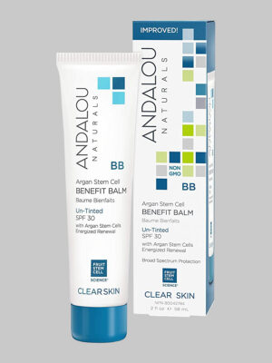 Andalou Naturals Argan Stem Cell Benefit Balm Un-Tinted SPF 30