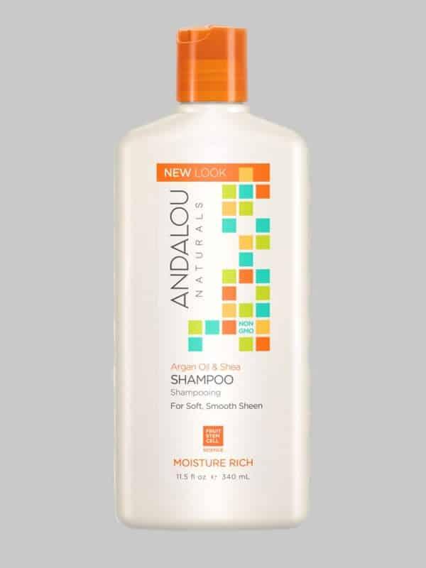 Andalou Naturals Argan Oil Shea Moisture Rich Shampoo