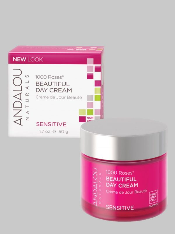 Andalou Naturals 1000 Roses Beautiful Day Cream