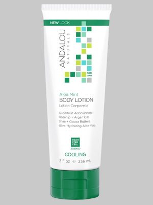 Andalou Naturals Aloe Mint Body Lotion