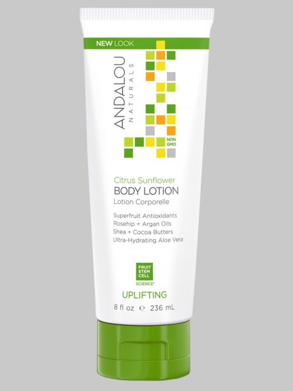 Andalou Naturals Citrus Sunflower Body Lotion