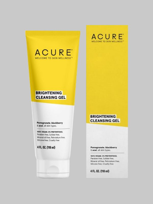 Acure Brightening Cleansing Gel