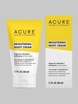 Acure Brightening Night Cream