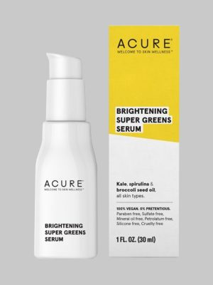 Acure Brilliantly Brightening Super Greens Serum