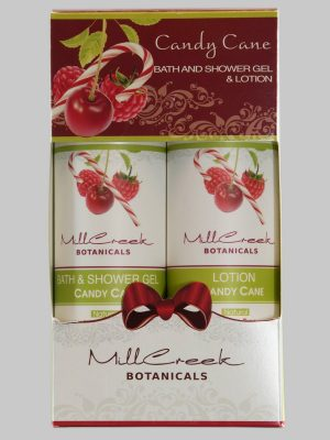 Mill Creek Candy Cane Bodywash & Lotion