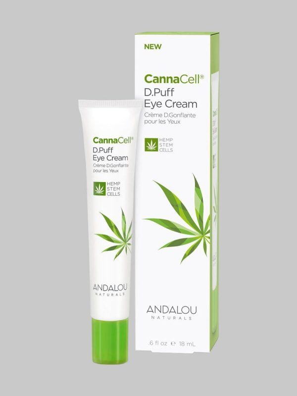 Andalou Naturals CannaCell D.Puff Eye Cream