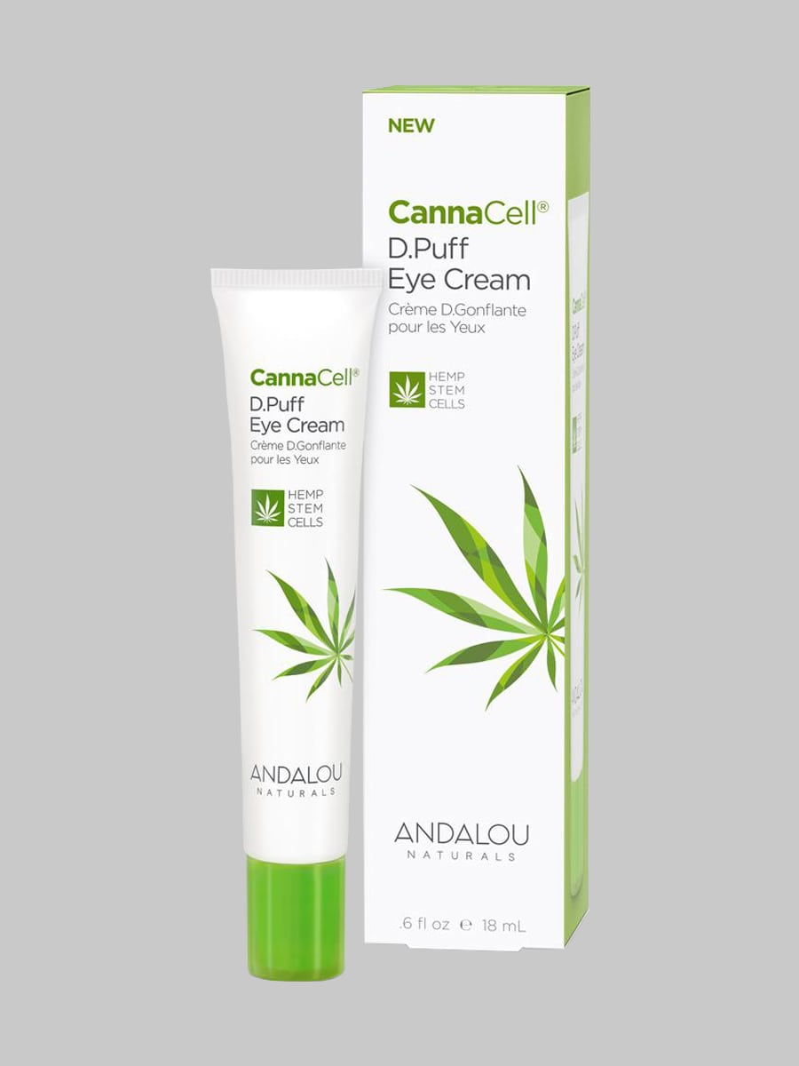 Andalou Naturals CannaCell D.Puff Eye Cream