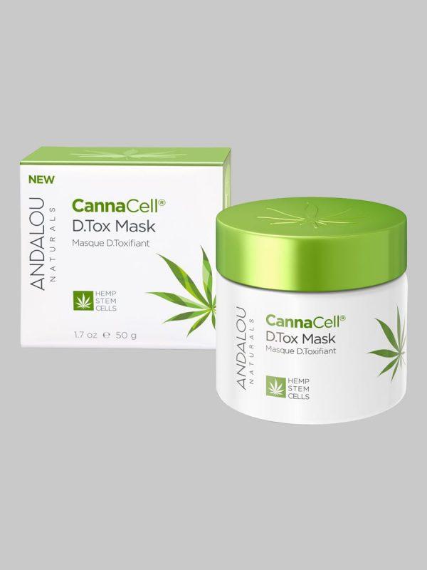 Andalou Naturals CannaCell D.Tox Mask