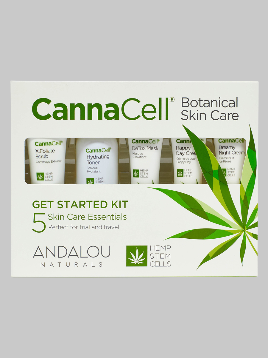Andalou Naturals CannaCell Botanical Get Started Kit