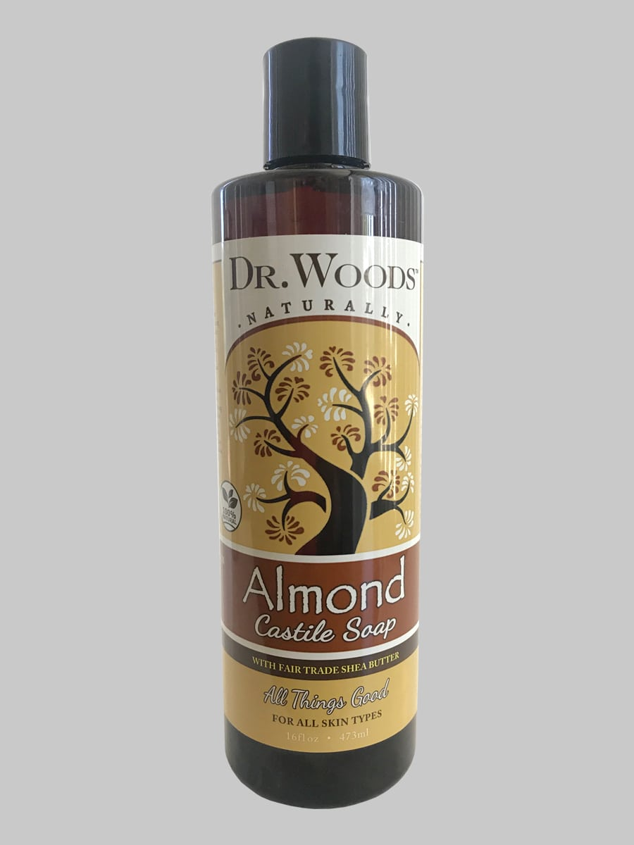 Dr. Woods Castile Soap Almond with Fair Trade Shea Butter