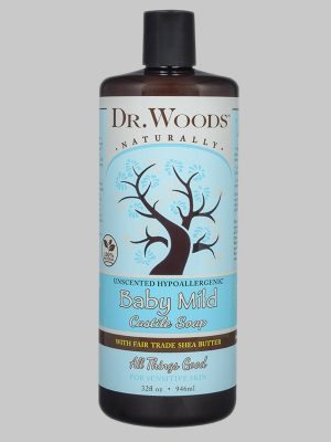 Dr. Woods Castile Soap Baby Mild with Fair Trade Shea Butter
