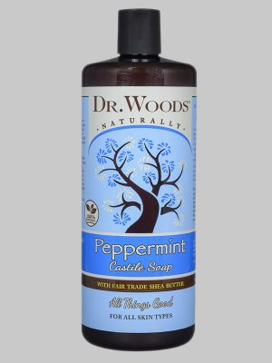 Dr. Woods Castile Soap Peppermint with Fair Trade Shea Butter