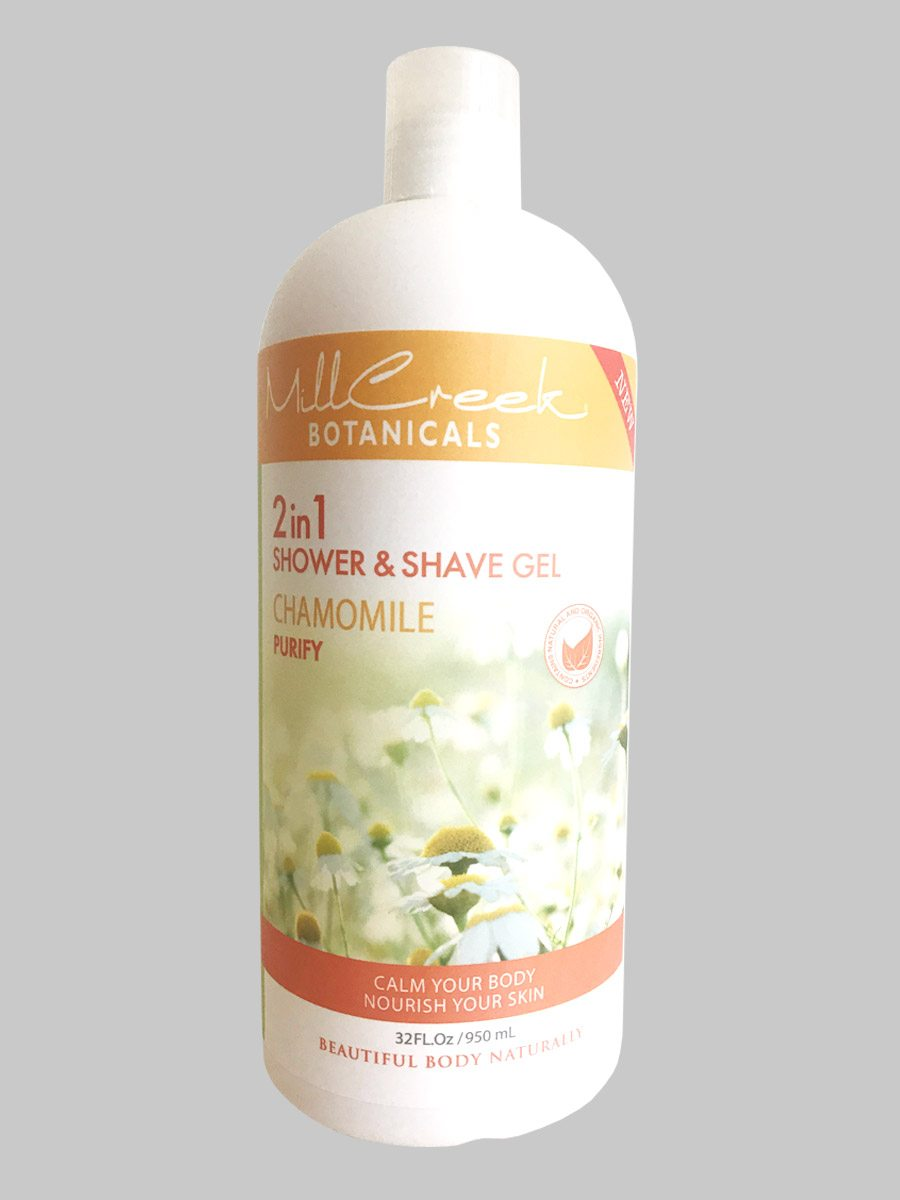 Mill Creek 2 in 1 Shower & Shave Gel Chamomile