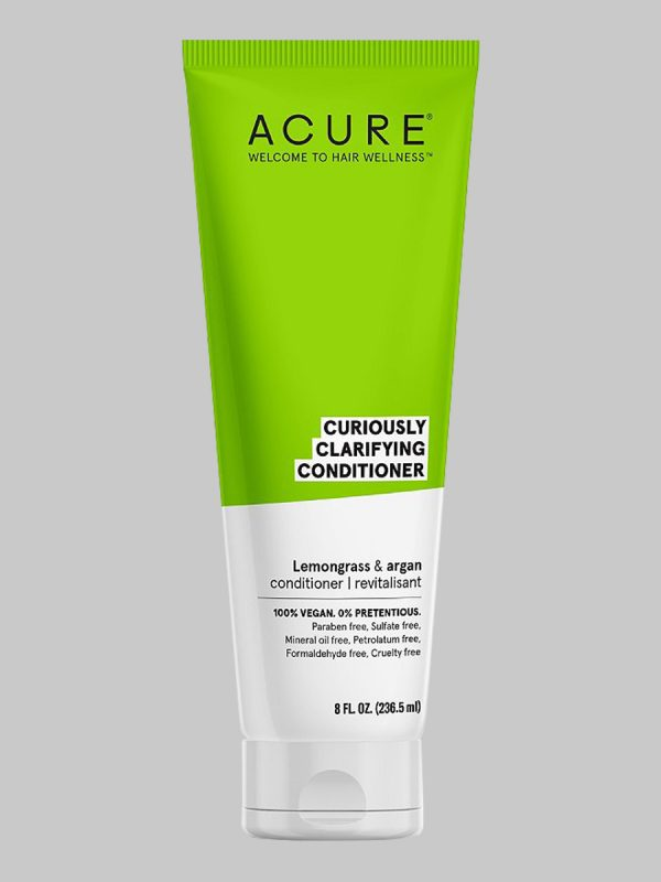 Acure Curiously Clarifying Lemongrass & Argan Conditioner 8 oz
