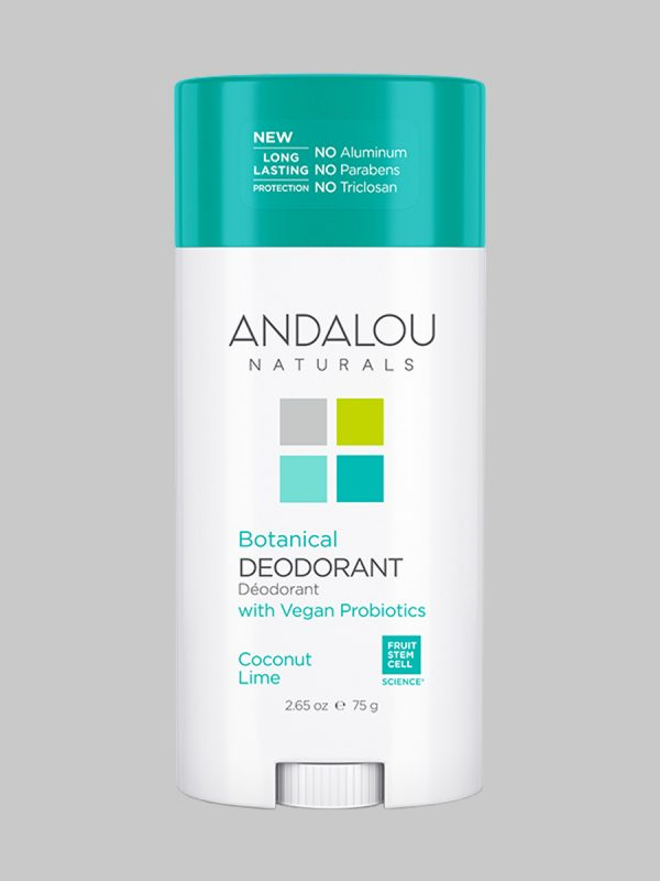 Andalou Naturals Botanical Deodorant Coconut Lime