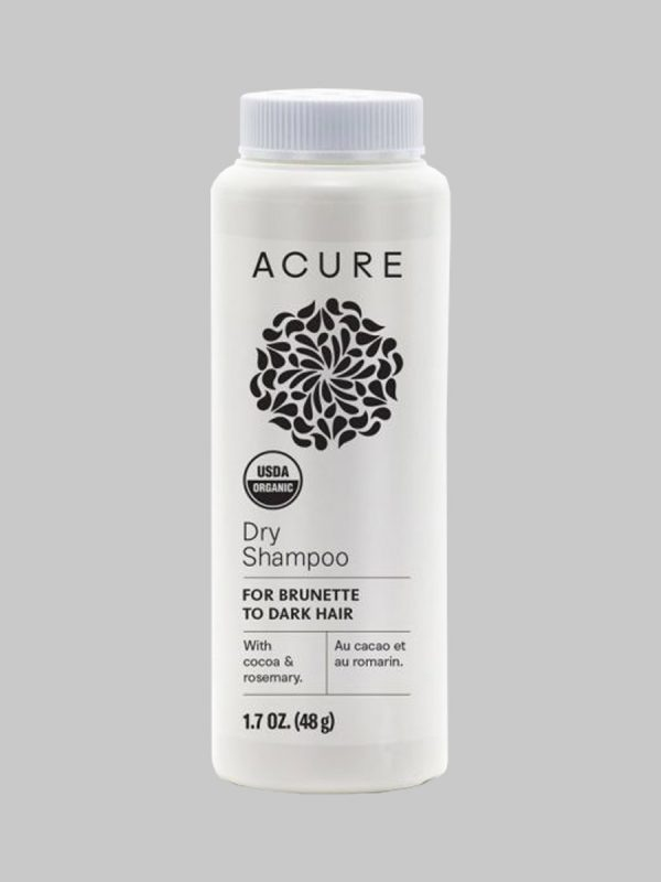 Acure Dry Shampoo For Brunette to Dark Hair