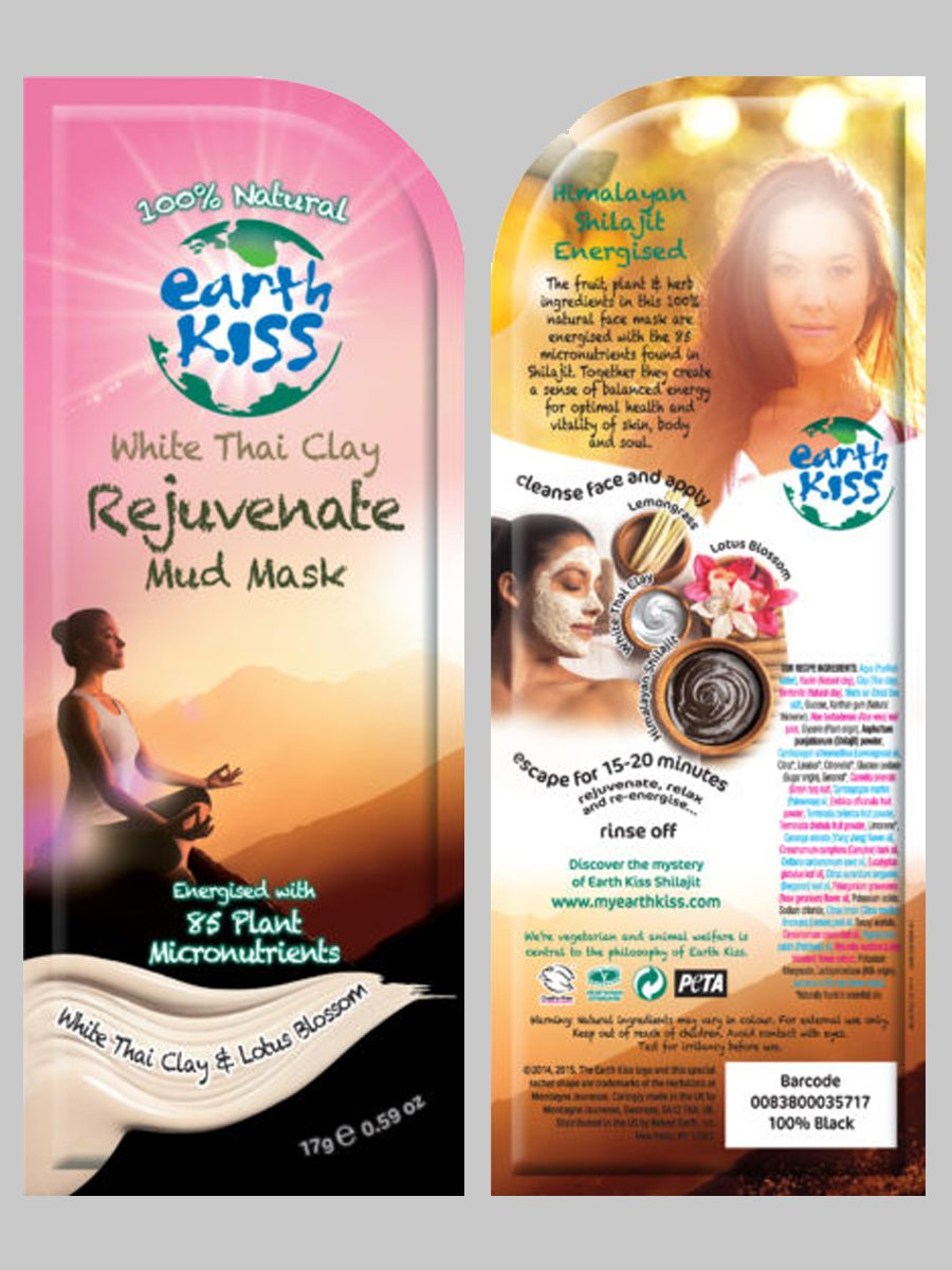 Earth Kiss White Thai Clay Rejuvenate Mud Mask