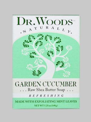 Dr. Woods Bar Soap Garden Cucumber