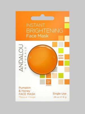 Andalou Naturals Instant Brightening Pumpkin & Honey Face Mask Pod