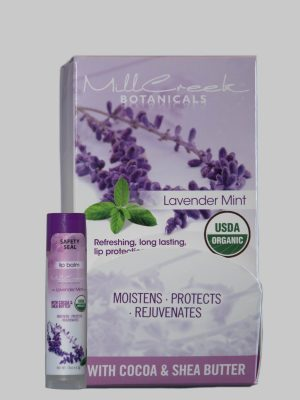 Mill Creek Lavender Botanicals Mint Lip Balm