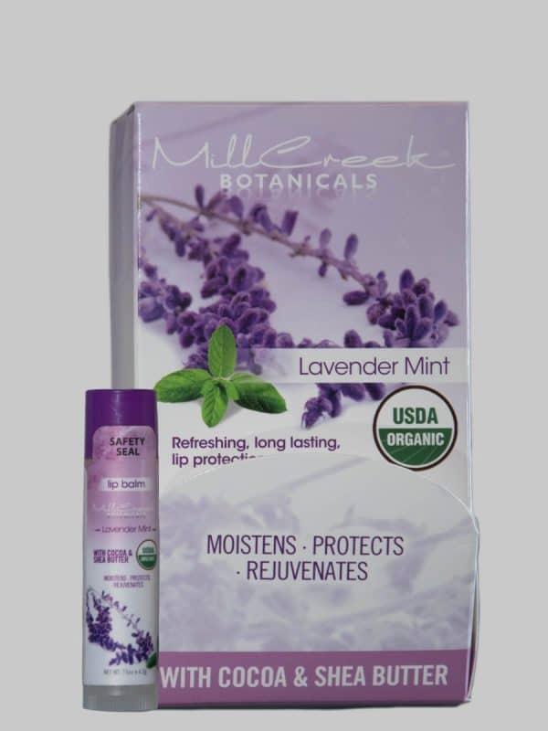 Mill Creek Lavender Botanicals Mint Lip Balm