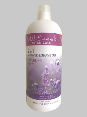Mill Creek 2 in 1 Shower & Shave Gel Lavender
