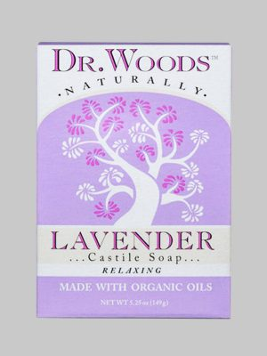 Dr. Woods Bar Soap Lavender