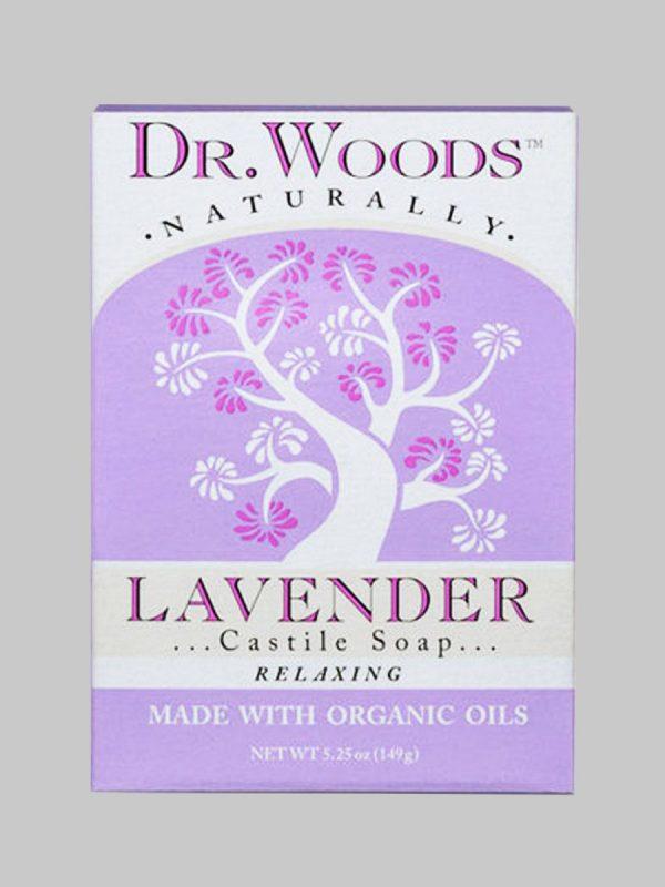 Dr. Woods Bar Soap Lavender