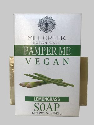 Mill Creek Pamper Me Vegan Lemongrass Soap