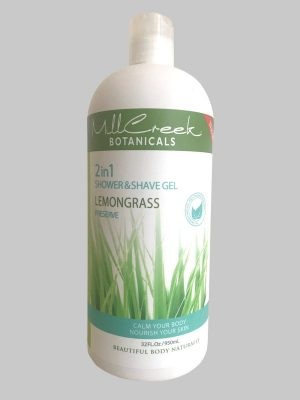 Mill Creek 2 in 1 Shower & Shave Gel - Lemongrass