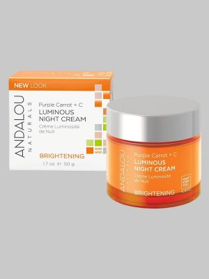 Andalou Naturals Purple Carrot + C Luminous Night Cream