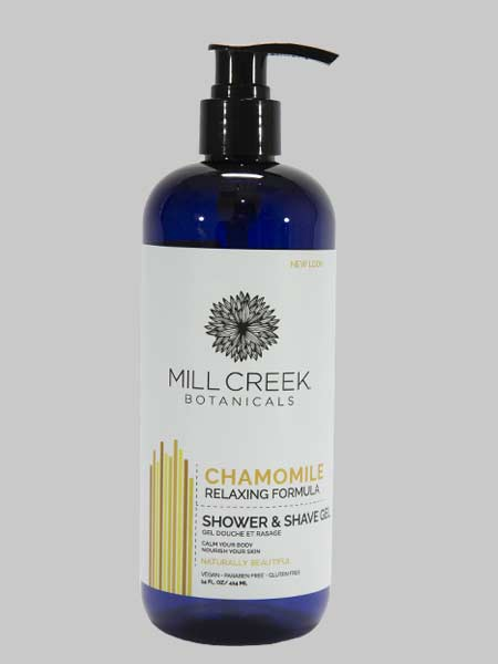 Mill Creek 2 in 1 Shower & Shave Gel Chamomile 14 oz