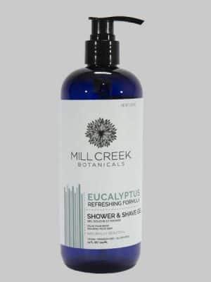 Mill Creek 2 in 1 Shower & Shave Gel Eucalyptus 14 oz