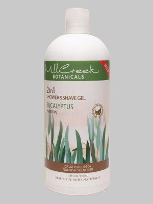 Mill Creek 2 in 1 Shower & Shave Gel Eucalyptus 32 oz