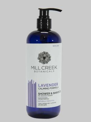 Mill Creek 2 in 1 Shower and Shave Gel Lavender 14 oz