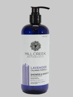 Mill Creek 2 in 1 Shower and Shave Gel Lavender 14 oz