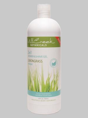 Mill Creek 2 in 1 Shower & Shave Gel Lemongrass 32 oz