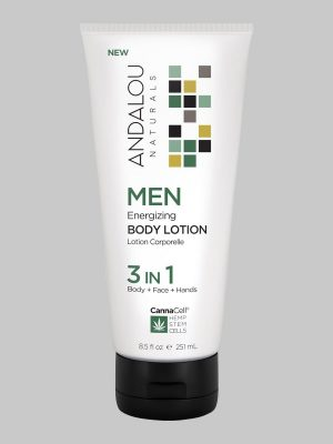 Andalou Naturals MEN Energizing Body Lotion 3 IN 1