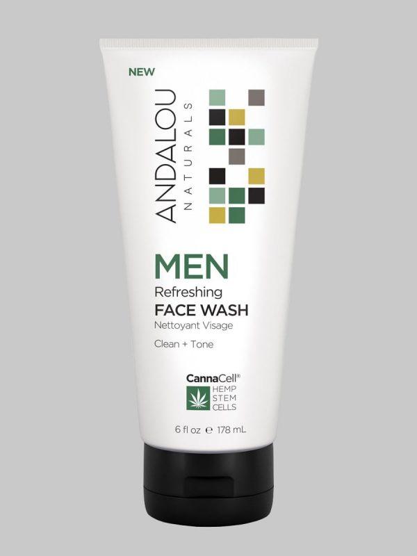 Andalou Naturals MEN Refreshing Face Wash