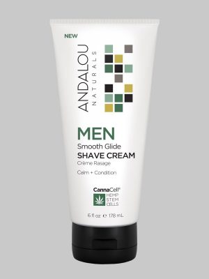 Andalou Naturals MEN Smooth Glide Shave Cream