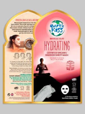 Earth Kiss Miracle Clay Hydrating Bamboo Sheet Mask