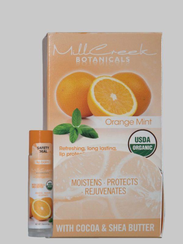 Mill Creek Botanicals Orange Mint Lip Balm