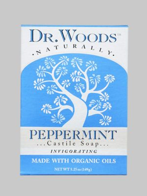 Dr. Woods Bar Soap Peppermint