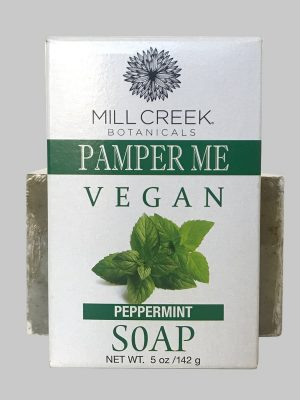 Mill Creek Pamper Me Vegan Peppermint Soap