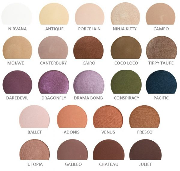 Honyebee Gardens Pressed Eye Shadows Collection