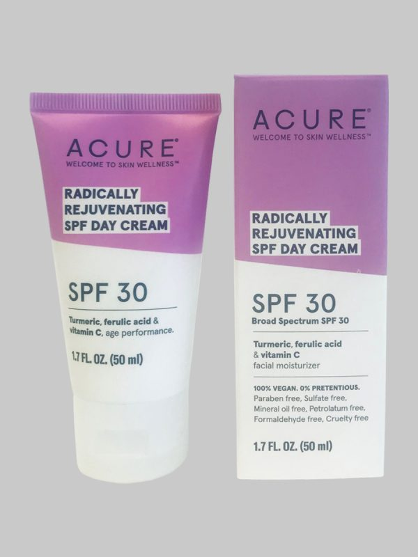 Acure Radically Rejuvenating SPF 30 Day Cream