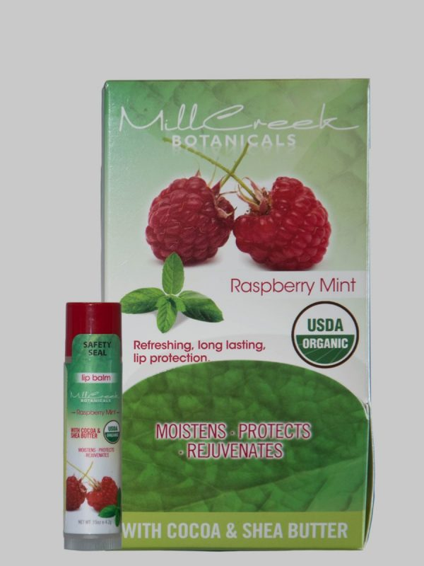 Mill Creek Botanicals Raspberry Mint Lip Balm